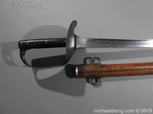 michaeldlong.com 4076 300x225 British 1899 Cavalry Troopers Sword by Wilkinson