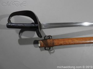 michaeldlong.com 4080 300x225 British 1899 Cavalry Troopers Sword by Wilkinson