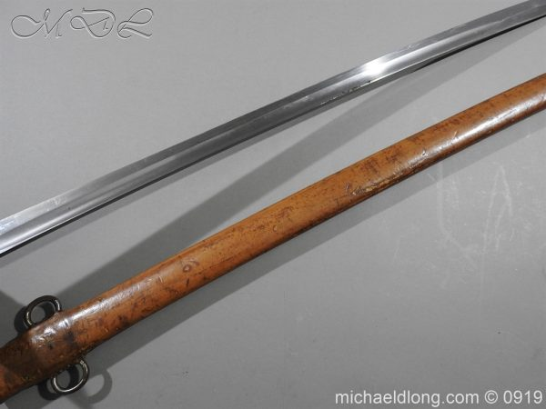michaeldlong.com 4081 600x450 British 1899 Cavalry Troopers Sword by Wilkinson