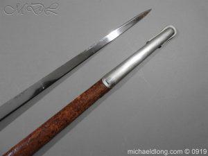 michaeldlong.com 4100 300x225 WW1 British 1897 Officers Presentation Sword