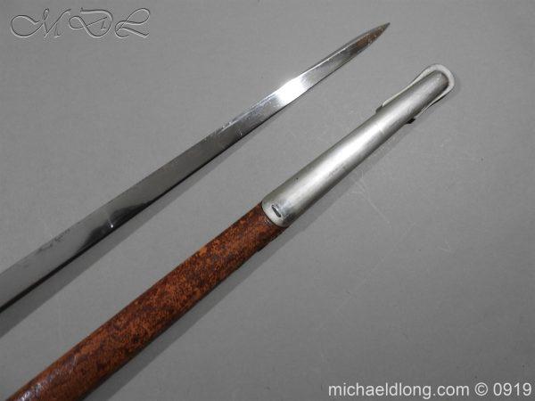 michaeldlong.com 4100 600x450 WW1 British 1897 Officers Presentation Sword