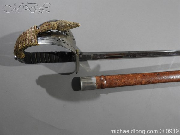 michaeldlong.com 4102 600x450 WW1 British 1897 Officers Presentation Sword
