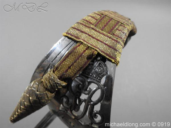 michaeldlong.com 4116 600x450 WW1 British 1897 Officers Presentation Sword
