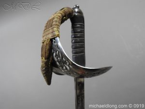 michaeldlong.com 4119 300x225 WW1 British 1897 Officers Presentation Sword