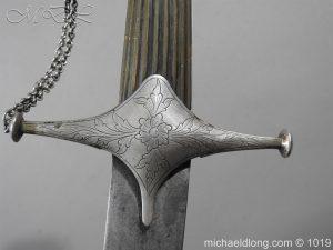 michaeldlong.com 4157 300x225 Silver Mounted Shamshir c 1820