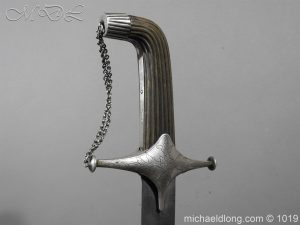 michaeldlong.com 4163 300x225 Silver Mounted Shamshir c 1820