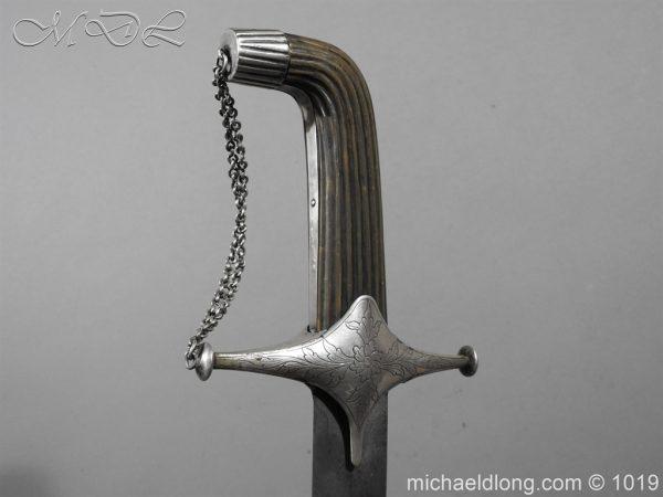 michaeldlong.com 4163 600x450 Silver Mounted Shamshir c 1820