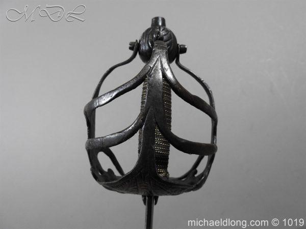michaeldlong.com 4181 600x450 English Mortuary Hilted Broadsword 17th Century