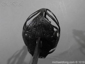 michaeldlong.com 4184 300x225 English Mortuary Hilted Broadsword 17th Century