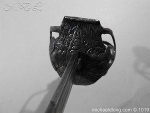michaeldlong.com 4189 300x225 English Mortuary Hilted Broadsword 17th Century