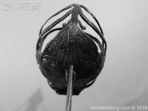 michaeldlong.com 4190 300x225 English Mortuary Hilted Broadsword 17th Century