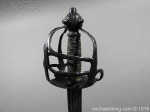 michaeldlong.com 4191 300x225 English Mortuary Hilted Broadsword 17th Century