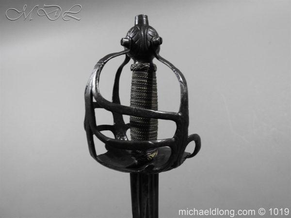 michaeldlong.com 4191 600x450 English Mortuary Hilted Broadsword 17th Century