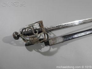michaeldlong.com 4257 300x225 Scottish Basket Hilted Sword Silver Mounts