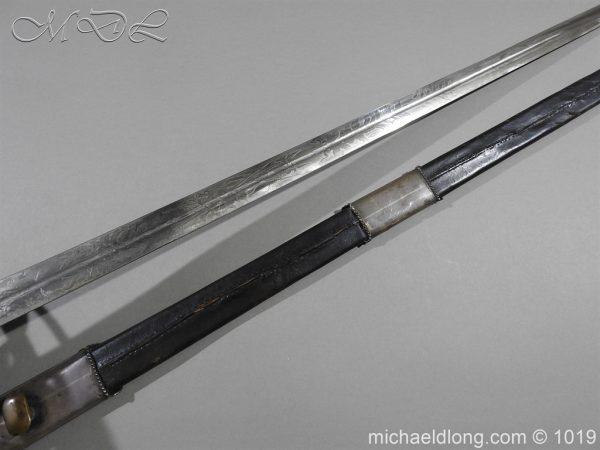 michaeldlong.com 4262 600x450 Scottish Basket Hilted Sword Silver Mounts