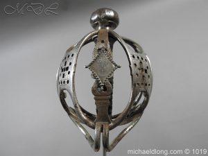 michaeldlong.com 4273 300x225 Scottish Basket Hilted Sword Silver Mounts