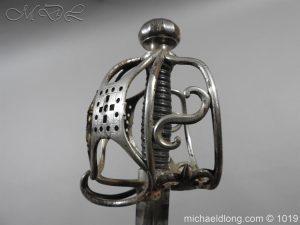 michaeldlong.com 4275 300x225 Scottish Basket Hilted Sword Silver Mounts
