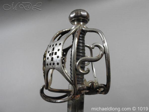 michaeldlong.com 4275 600x450 Scottish Basket Hilted Sword Silver Mounts