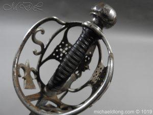 michaeldlong.com 4277 300x225 Scottish Basket Hilted Sword Silver Mounts