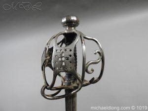 michaeldlong.com 4279 300x225 Scottish Basket Hilted Sword Silver Mounts