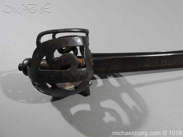 michaeldlong.com 4285 600x450 Scottish 17c Ribbon Hilt Sword