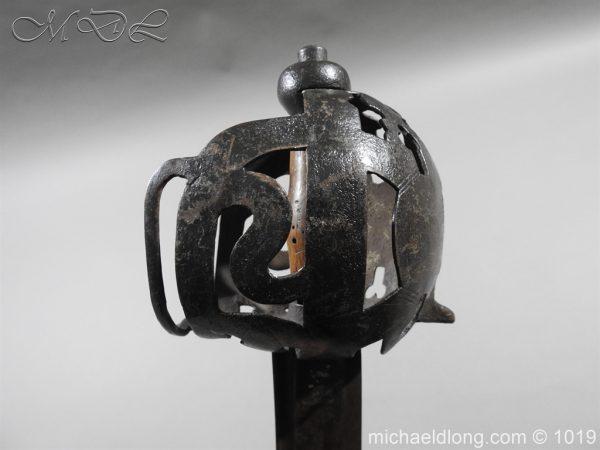 michaeldlong.com 4300 600x450 Scottish 17c Ribbon Hilt Sword