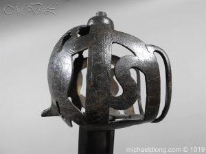 michaeldlong.com 4303 300x225 Scottish 17c Ribbon Hilt Sword