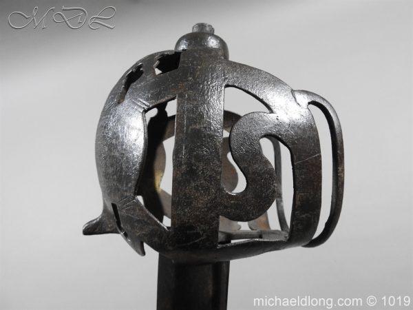 michaeldlong.com 4303 600x450 Scottish 17c Ribbon Hilt Sword