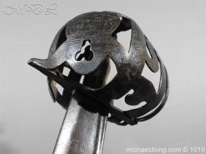 michaeldlong.com 4304 300x225 Scottish 17c Ribbon Hilt Sword