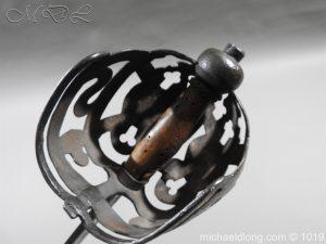 michaeldlong.com 4305 300x225 Scottish 17c Ribbon Hilt Sword