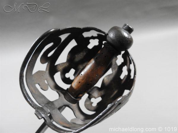 michaeldlong.com 4305 600x450 Scottish 17c Ribbon Hilt Sword