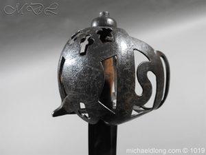 michaeldlong.com 4306 300x225 Scottish 17c Ribbon Hilt Sword