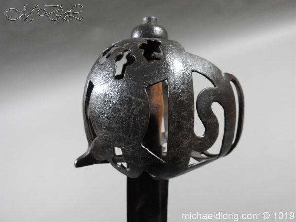 michaeldlong.com 4306 600x450 Scottish 17c Ribbon Hilt Sword