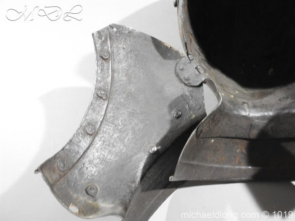 michaeldlong.com 4319 600x450 English Civil War Burgonet Helmet