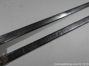 michaeldlong.com 4354 300x225 Scottish Officer's 1798 Pat Broad Sword by Fraser London