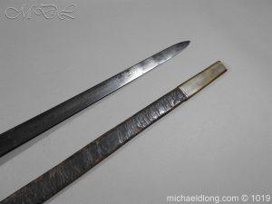 michaeldlong.com 4355 300x225 Scottish Officer's 1798 Pat Broad Sword by Fraser London