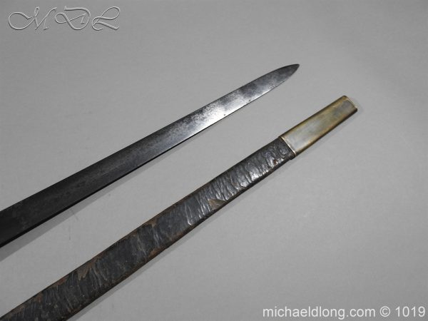 michaeldlong.com 4355 600x450 Scottish Officer's 1798 Pat Broad Sword by Fraser London