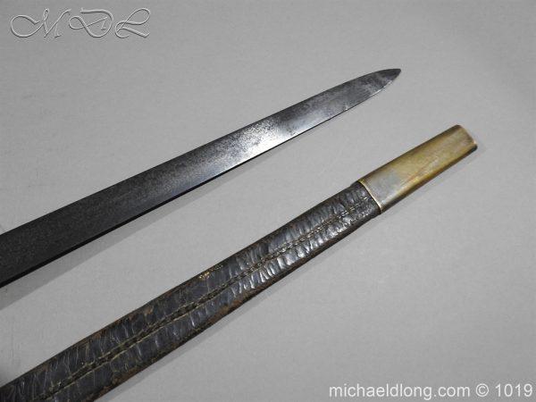 michaeldlong.com 4359 600x450 Scottish Officer's 1798 Pat Broad Sword by Fraser London