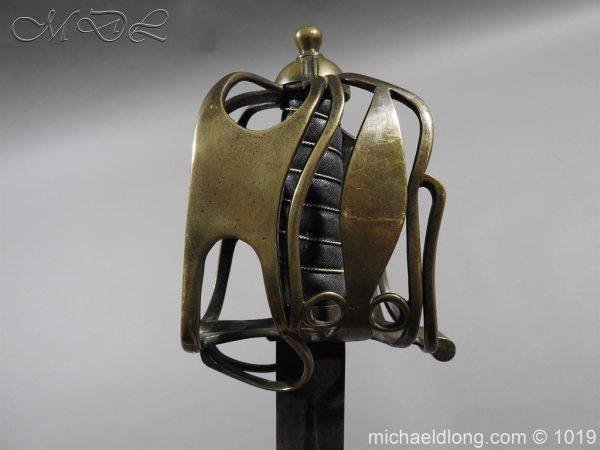 michaeldlong.com 4365 600x450 Scottish Officer's 1798 Pat Broad Sword by Fraser London