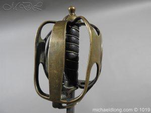 michaeldlong.com 4366 300x225 Scottish Officer's 1798 Pat Broad Sword by Fraser London