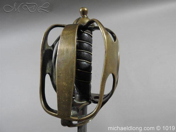 michaeldlong.com 4366 600x450 Scottish Officer's 1798 Pat Broad Sword by Fraser London