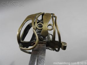 michaeldlong.com 4372 300x225 Scottish Officer's 1798 Pat Broad Sword by Fraser London