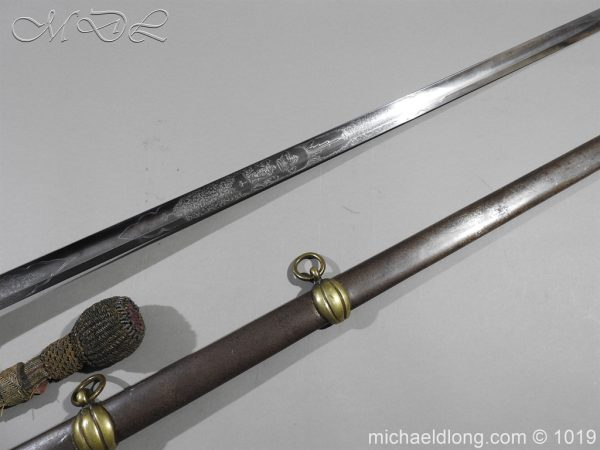 michaeldlong.com 4427 600x450 1832 British 2nd Lifeguards Officer's Sword