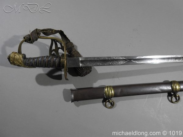 michaeldlong.com 4430 600x450 1832 British 2nd Lifeguards Officer's Sword