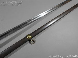 michaeldlong.com 4431 300x225 1832 British 2nd Lifeguards Officer's Sword