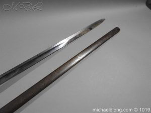 michaeldlong.com 4432 300x225 1832 British 2nd Lifeguards Officer's Sword