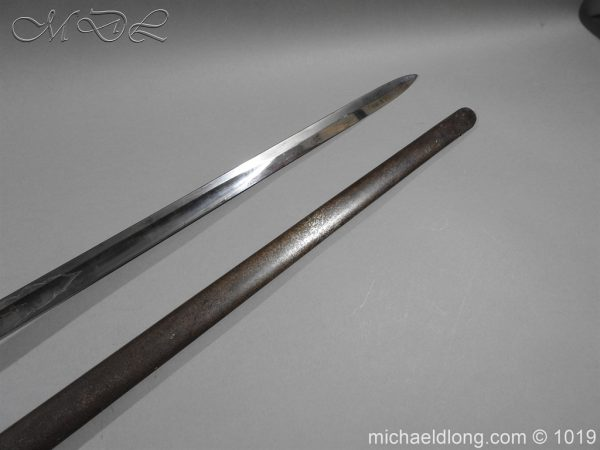 michaeldlong.com 4432 600x450 1832 British 2nd Lifeguards Officer's Sword