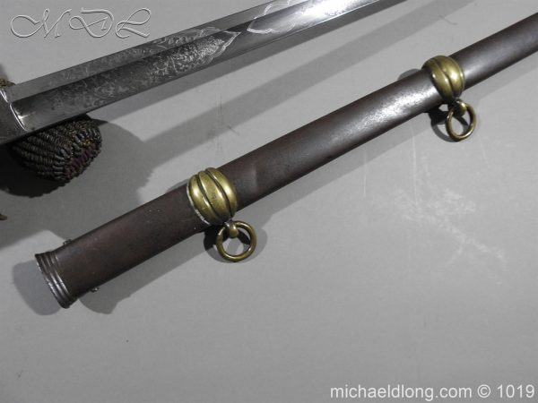 michaeldlong.com 4433 600x450 1832 British 2nd Lifeguards Officer's Sword