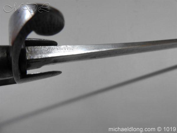 michaeldlong.com 4472 600x450 1796 Light Cavalry Sword by Craven