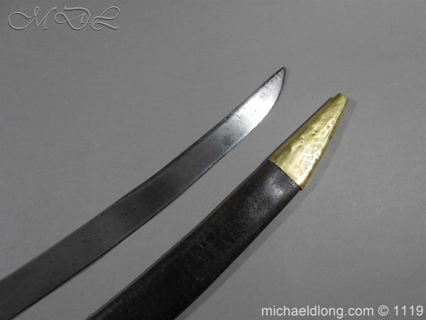 michaeldlong.com 4566 600x450 Naval Officer's Sword Dated 1801